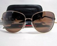 QUIM Gold GP-BKL Sunglasses By Chrome Hearts Cheap