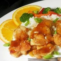 "Asian Orange Chicken | ""Wow! Fabulous flavor. My son requested this for his birthday dinner and everyone loved it!"""