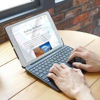 DUX DUCIS Smart Awake Sleep Magnetic Wireless bluetooth Tablet keyboard Case Business Flip PU Leather Full Protection Case Cover for iPad pro 9.7 inch / for iPad Air 2