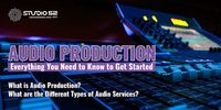 Are you looking for audio services? Audio Production: Everything You Need to Know to Get Started- Telephone Hold Message, IVR Recording, Voice Over Artist, Radio Commercial, Dubbing, etc.