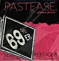 "Pastease® Premium Pasties - THIGHBRUSH® ""69% ER DIAMOND COLLECTION"" - Black Shimmer"