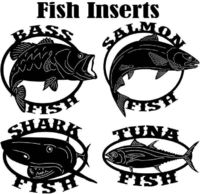 Fish Insert Just for: $39.00