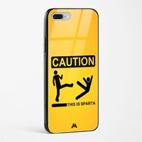 This is Sparta Glass Case Phone Cover from Myxtur
