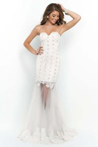 Long Lace Evening Gowns