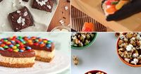 We scoured the web looking for enticing and novel uses of drugstore candy bars, perfect for using up your leftover Halloween candy stash. Be warned: these
