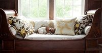 Cozy Daybed with Lauren Liess Textiles fabric collection