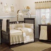 Potential crib bedding still available for purchace. Neutral tones could work with a Classic Winnie the Pooh theme.