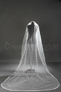 Faddish Cathedral Length Ivory Lace Wedding Bridal Veil