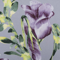 Appledorn Lilac Fabric  Tulips are one of the world's most popular flowers that's why we at Occipinti created a bespoke range of tulip fabric and wallpapers. With stunning colors, and bursting blooms our Appledorn design enhances any home. A...