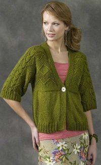 Every gal needs that perfect go-to cardigan that's light enough for spring. This gorgeous Fresh Spring Cardigan features 3/4 length sleeves, a bright color and