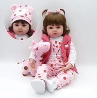 Adorable Life-sized Baby Doll $55.95