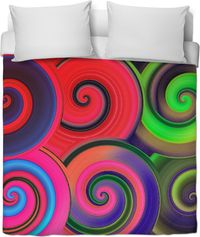 Colors Galore Duvet Cover $120.00