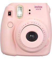 Fujifilm Instax Mini 8 Instant Camera, Pink--depending your area, use local coupon this week for 60% off the whole store & pay even less