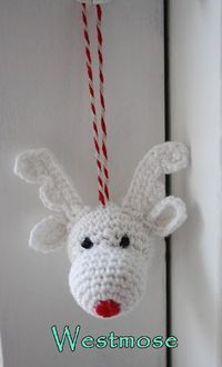 crochet little rudolf - christmas crochet