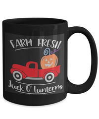 Farm fresh jack o' lanterns halloween $18.95