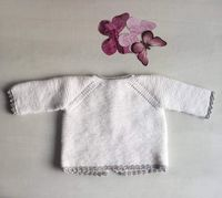 Baby jersey pattern from Molan mis Calcetas design