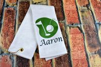 Golf Towel - Personalized With Name $12.99