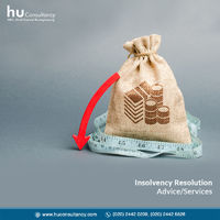 Our expert team at HU Consultancy will strive their best to restore your business from bankruptcy. With vast experience, we developed the skill and strategies to give you the most profitable insolvency service in India. Browse our website today to know mo...