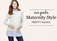 Project Nursery Picks: Preppy Maternity Style Pieces