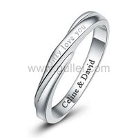 Personalized Name Promise Ring Sterling Silver 3.3mm https://www.gullei.com/love-quote-sterling-silver-personalized-name-commitment-ring-for-him.html