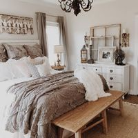 Actually, when it comes to make your bedroom a cozy oasis, it doesn't need to cost a fortune to add major comfort. Here are some tips to create a cozy bedroom o