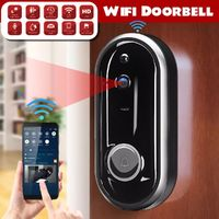 Video Doorbell Camera Wireless WiFi Security Phone Ring Door Bell Intercom 720P