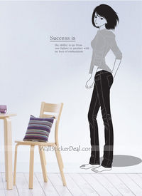 Success Is The Ability To Go From One Failure To Another With No Loss Of Enthusiasm Wall Sticker