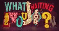 What are you waiting for? By Thomas Burden, via Behance.