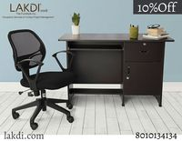 Get customized study tables and chairs online in India. Lakdi offers made-to-order and customized furniture options to get your dream furniture with a five-year warranty and fast delivery. Our specialized team of Designers & Project managers will take...