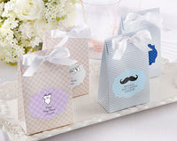 """Sweet Baby"" Candy Bags (Pink or Blue) (Set of 24)"