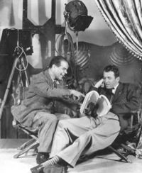 Frank Capra and James Stewart- It's a Wonderful Life