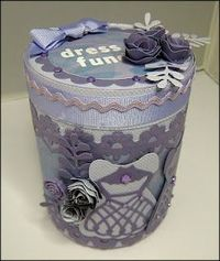 decorate tins