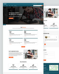 Download free computer repair website HTML template designed & developed for computer repair, service, and support company website. Visit - https://html.design/download/computer-repair-website-template/