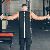 Brand NO PAIN NO GAIN clothing bodybuilding stringer gyms tank top $22.99