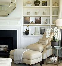 OR built-ins on fireplace wall in Living room instead of north-wall. Hmmm...