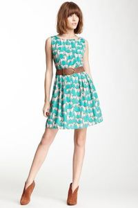 Printed Sleeveless Dress on HauteLook