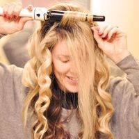How-to Get MEGA VOLUME in Your Hair By Maegan Tintari Tip 12 If you're going to wave your hair with an iron, to get extra volume, wrap all your hair around the wand up and back as shown here: Soft Beachy Waves Hair Tutorial with a Hot Tools Tapered Ce...