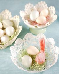 Get ready for Easter this year with touches of spring around the home. With a garden-fresh palette and colorful eggs, this cheery decor is a welcome change from