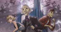 Animated Doctor Who part of the Neverweres