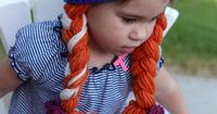 Crochet Anna Frozen Inspired Hat by alanemarie on Etsy, $25.00