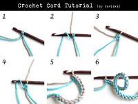Crochet Cord - Tutorial � 4U // hf