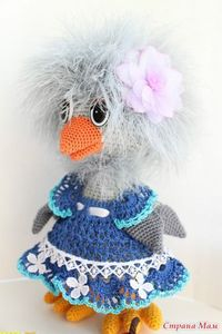 More wonderful crochet from Russia, this one has pattern