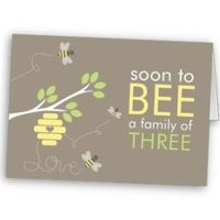 Zazzle card from TBA: Bee Family Baby Shower...