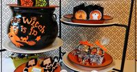 6 Different Halloween Treat Boxes for Party Favors, You've Been Booed, Trick or Treat #HalloweenTreatBoxes