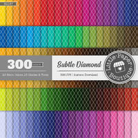 Harlequin digital paper 100 rainbow color harlequin diamond bright pastel printable scrapbook paper Diamond Checkers Digital Paper checkered $6.00