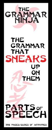 Every unit is all ninja, all the time. Ninja jokes, ninja facts, ninja stories. Students will have a riot of a time learning about Parts of Speech. Of all things! Parts of Speech Complete Unit - Grammar Ninja! 300+ pages/slides of parts of speech learning...