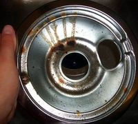 How to Clean Drip Pans with Baking Soda and Boiling Water: Add ¼ cup baking soda to a pot of boiling water big enough to fit the drip pans into.Boil the drip pans for 15 minutes and remove from the pot carefully as they will be extremely hot.Scrub any re...