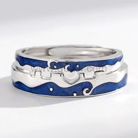 Gullei.com Matching Relationship Rings Anniversary Gift for Couple