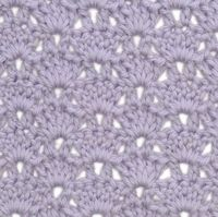 How to Make the Shell & V-Stitch Pattern | crochet today