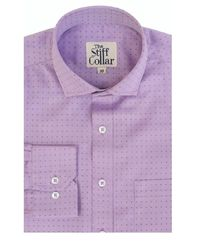 Lilac Dobby Giza Cotton Shirt �'�1699.00